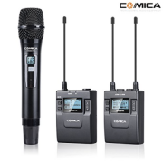 COMICA CVM-WM300B WIRELESS DUAL MIC KIT (LI-ION) (1 MIC, 1 LAV, 1 TX, 1 RX)